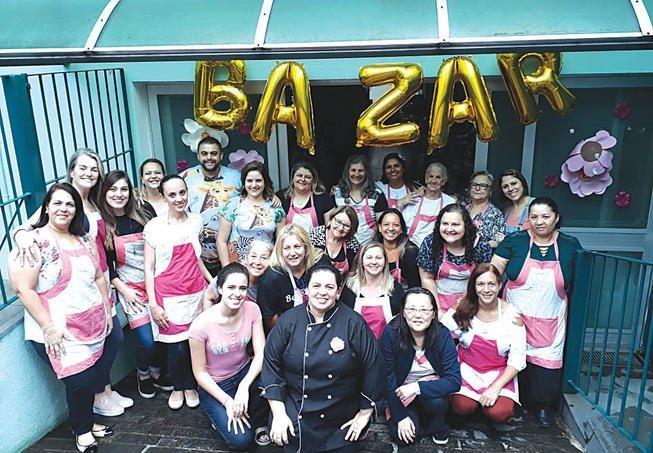 Bazar de Natal Grupo Luz