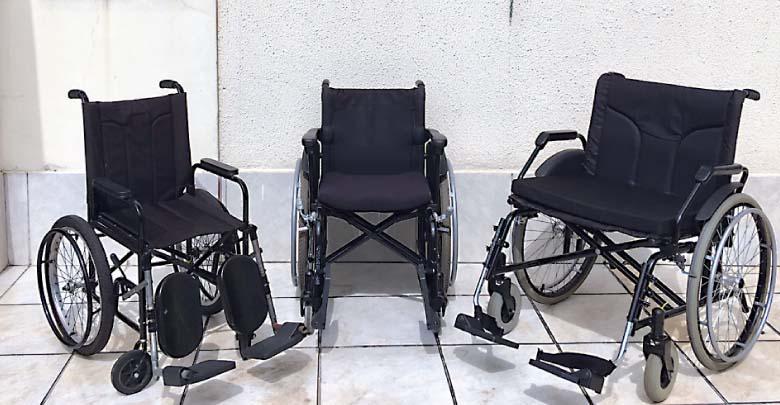 9ed21c1d2d87 Serviços. Entre os serviços há a locação de cadeiras de rodas ...