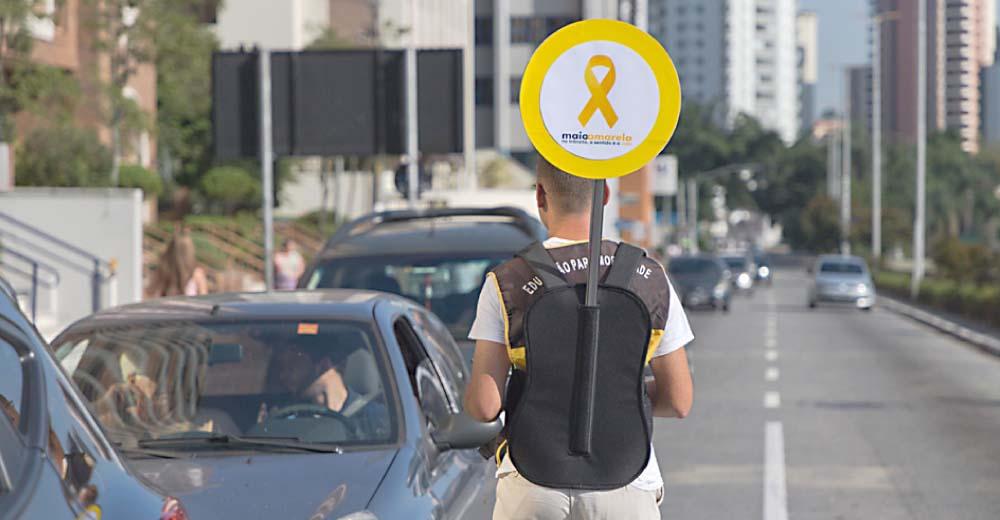Campanha Maio Amarelo Tem Início Em Santo André