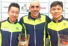 Mesatenistas de SCS conquistam título de duplas no Aberto da Eslovênia